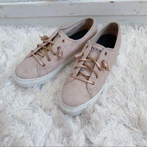 Sperry Pink Sneakers